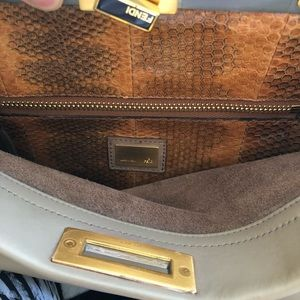 93d3aca0ee Fendi Bags - Fendi leather peekaboo purse